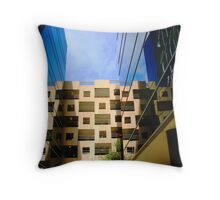 south bank Throw Pillow
