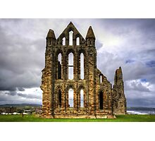 Whitby Abbey Remains Photographic Print
