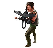 Walking Dead: Daryl Dixon Photographic Print