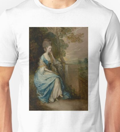 Portrait of Anne, Countess of Chesterfield by Thomas Gainsborough Unisex T-Shirt