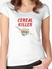 Breakfast Cereal Killer Women's Fitted Scoop T-Shirt