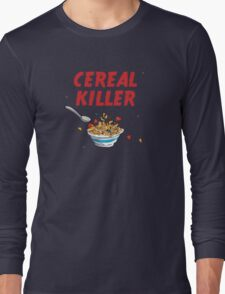 Breakfast Cereal Killer Long Sleeve T-Shirt