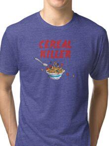 Breakfast Cereal Killer Tri-blend T-Shirt
