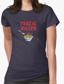 Breakfast Cereal Killer Womens Fitted T-Shirt