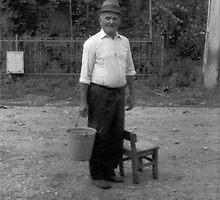 an old man ...  by highendk
