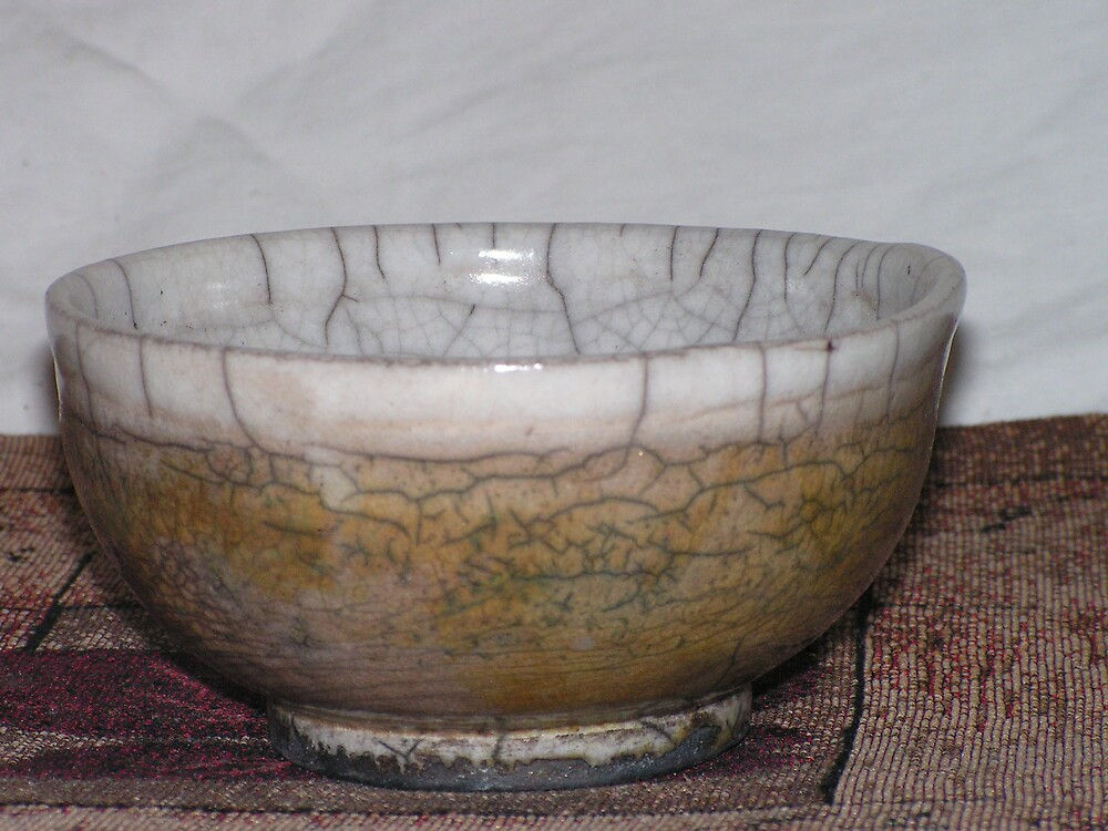 raku bowl by fatman
