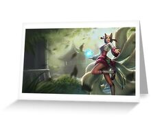 League of Legends Ahri Lol Greeting Card