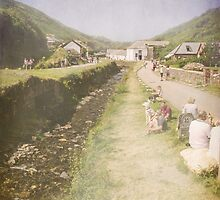 Boscastle view by Lissywitch