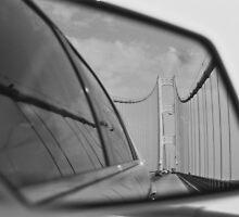 Mackinaw Bridge Reflected by Jessica Kruer