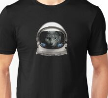Space Helmet Astronaut Cat Unisex T-Shirt