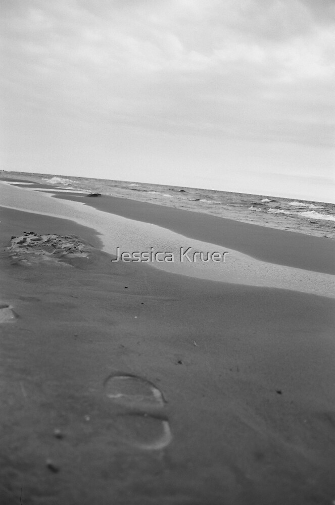 Footprint in the Sand by Jessica Kruer