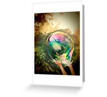 World Within Greeting Card