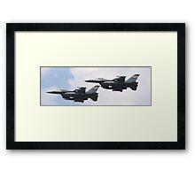 F-16 Framed Print