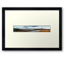 Turner Creek Framed Print