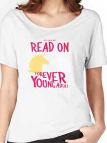 Keep Calm and Read On, FYA Women's Relaxed Fit T-Shirt