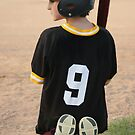 Boy Waiting To Bat by Elizabeth  Lilja