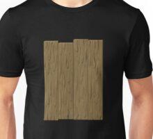 Glitch Abbasid Land fence wood 1 Unisex T-Shirt