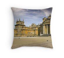 blenheim palace courtyard Throw Pillow