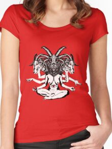 Woman is a Devil Women's Fitted Scoop T-Shirt