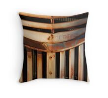 Rusted Grill - Route 66 Throw Pillow