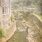 The Riverside, Boscastle by Lissywitch
