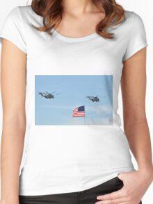 CH-53E Super Stallion Women's Fitted Scoop T-Shirt