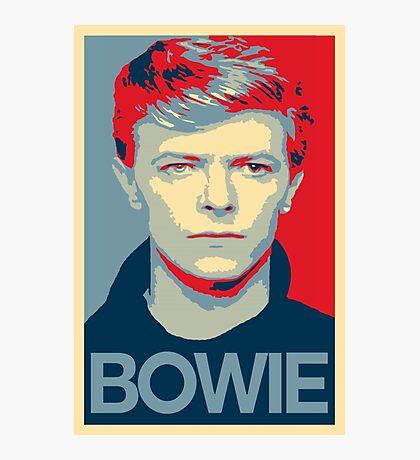 David Chameleon Bowie  Photographic Print