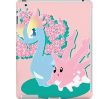 Corsola and Amaura in Spring iPad Case/Skin