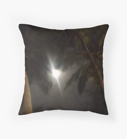The Palms of Dunk Throw Pillow