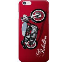 Cafe Rebellion iPhone Case/Skin