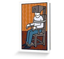 My comfy chair Greeting Card