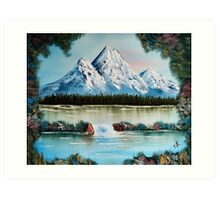 Spring in Colorado Springs Art Print