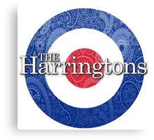 The Harringtons Logo Canvas Print