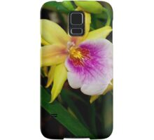 Gorgeous Miltonia Sunset Orchid Samsung Galaxy Case/Skin