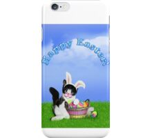 Cute Easter Kitty iPhone Case/Skin