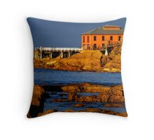Tathra Wharf Throw Pillow