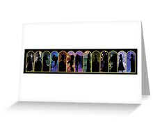 12 Princesses and a Queen Greeting Card