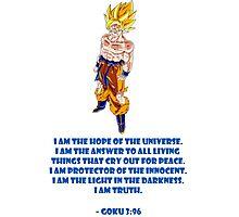 Goku 3:96 Photographic Print