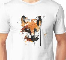Geometric Watercolor Fox Unisex T-Shirt