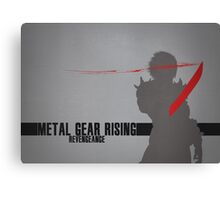 Metal Gear Rising - Revengeance - Raiden Canvas Print