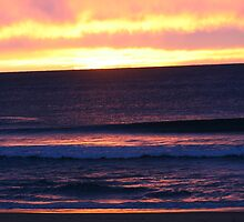 Sunrise at Currimundi Beach by Kylie Paterson