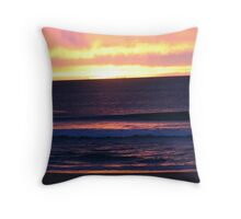 Sunrise at Currimundi Beach Throw Pillow
