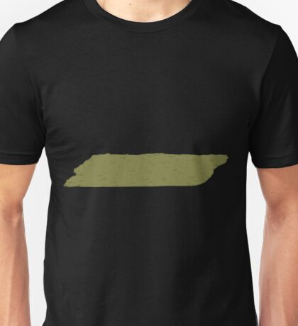 Glitch Abbasid Land ground grass patch 1 Unisex T-Shirt