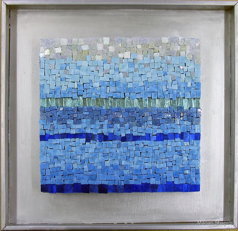 Colour series: Blue II by Marian Shapiro