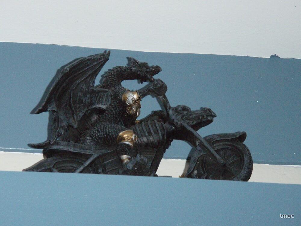 Dragon Statue by tmac