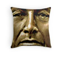 WARYAK  An AMERICAN RED INDIAN CHEIF Of THE SKY TRIBE Throw Pillow