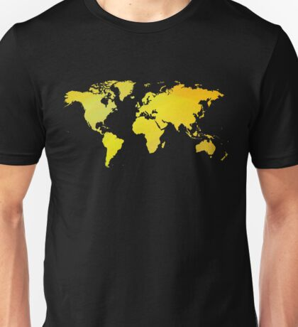 Yellow mp of the world Unisex T-Shirt
