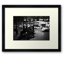 Winter's night Framed Print