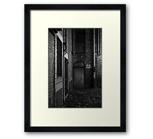 It's a secret Framed Print