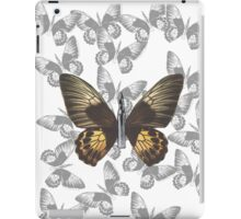 Bullet with Butterfly Wings iPad Case/Skin